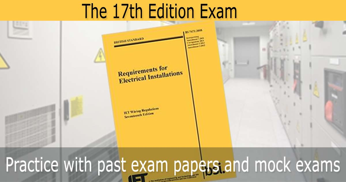 17th Edition Mock Exam From Past Papers No 1