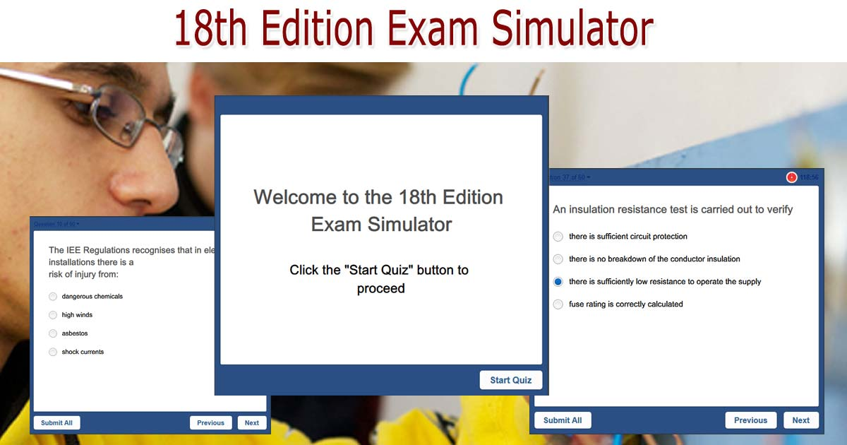 Marvelous 18Th Edition Exam Simulator Sparkyfacts Co Uk Wiring Digital Resources Remcakbiperorg